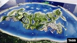 Искусственного острова такого масштаба в России еще не намывали