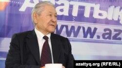 Серикболсын Абдильдин, оппозиционный политик. Алматы, 20 марта 2015 года.