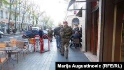Policija na ulicama Lyona, foto: Marija Augustinović