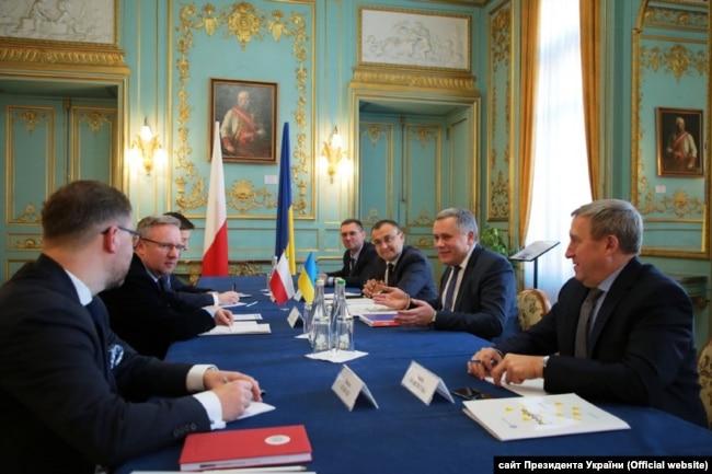Засідання консультаційного комітету президентів України і Польщі