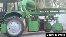 Özbek traktorlary