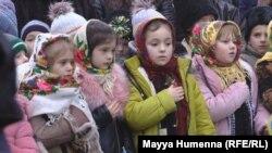 Міністри освіти та закордонних справ України і Румунії відкрили нову школу у селі Йорданешти Глибоцького району Чернівецької області