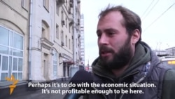 Muscovites Miss Migrant Street Cleaners As Ruble Falls