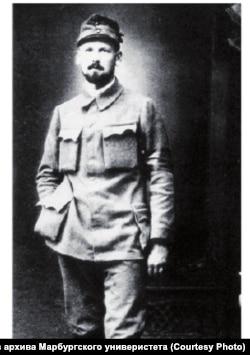 Геро фон Мергарт. Офицер австро-венгерской армии. 1914 г.