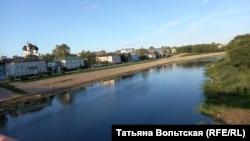 На реке Вологде. Набережная