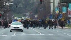 'Borba za život': Protestima u Sarajevu traže vakcine