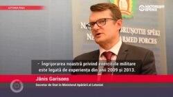 Jānis Garisons - De ce Țările Baltice sunt îngrijorate de exercițiile comune ale Federației Ruse și a Belarusului?