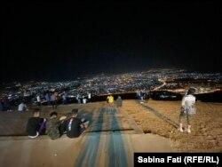 Saulaymaniyah văzută de pe muntele Azmar, Irak, 2021