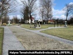 Цвинтар у Павлокомі, де поховані замордовані українці