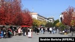 Prishtinë, fotografi nga arkivi.