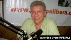 Mihai Ghimpu în studioul Europei Libere