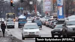 Бишкектеги жол кыймылы.