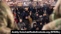 Під час акції на майдані Незалежності у Києві