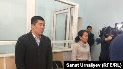 Суд по делу учителя начальной военной подготовки гимназии Айдоса Габдулкаримова.
