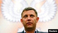 Олександр Захарченко, лідер угруповання «ДНР», що визнане в Україні терористичним