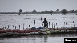 Наводнение в Пакистане.