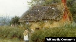 Гэлен Алінгам, «Хата са сланечнікамі каля Післэйку»