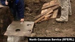 Ремонт водопровода в селе Ногир Северной Осетии