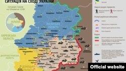 Ситуація в зоні бойових дій на Донбасі, 18 жовтня 2014 року