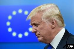 Президент США Дональд Трамп у Брюсселі 25 травня