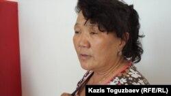 Тарбия Утеулиева, тетя убитого Нурлана Утеулиева по отцовской линии.