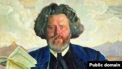 Максимилиан Волошин, картина Бориса Кустодиева
