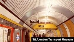 Pamje nga metroja e Londrës