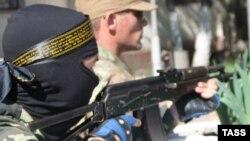 Проросійський бойовик в Донецьку