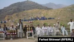 Участники спортивного турнира в пакистанском округе Хибер.