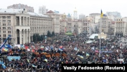 Майдан в Киеве, 1 декабря 2013.