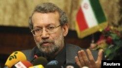Iran's parliament speaker Ali Larijani
