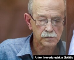"Scientist Viktor Kudryavtsev's health was ""completely damaged"" by his detention, Pavlov said."