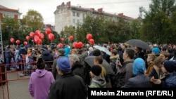 Митинг в мурманском гайд-парке