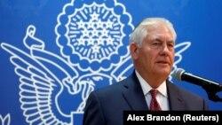 Sekretari amerikan i Shteitt Rex Tillerson
