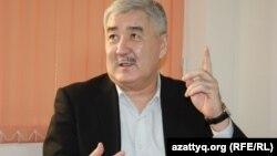 Оппозицияшыл саясаткер Әміржан Қосанов. Алматы, 10 желтоқсан 2013 жыл.