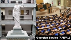 87 против 33-х – проект закона «Об общих судах» за авторством спикера парламента Ираклия Кобахидзе перестал быть проектом