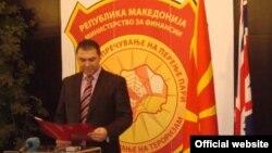 Поранешниот директор на Управата за спречување перење пари и финансирање на тероризам Ване Цветанов.
