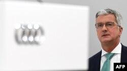 روپرت استادلر، مدیر عامل شرکت خودروسازی آئودی
