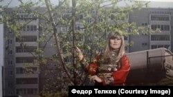 Жительница деревни Верхний Потам. Фото с выставки