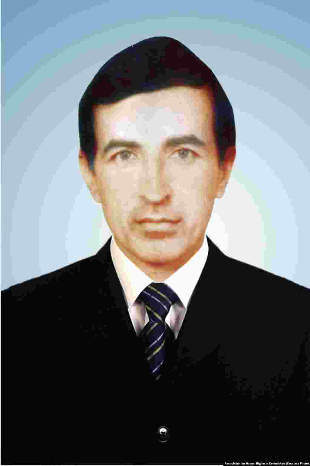 "Opposition politician Murod Juraev was arrested in 1994. Authorities have extended his sentence four times for so-called ""violations of prison rules,"" including ""peeling carrots incorrectly."""