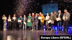 Ziariștii Europei Libere pe podium