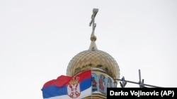 """Iz budžeta Srbije izdvojeno je oko dva miliona dinara (oko 16.800 evra) za izgradnju takozvane Putinove crkve (Hrama """"Blage Marije"""")"""