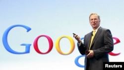 Google басшысы Эрик Шмидт. АҚШ, 5 қыркүйек, 2012 жыл