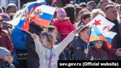 Годовщина российской аннексии в Севастополе, иллюстрационное фото