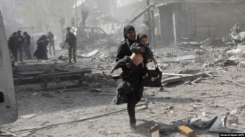 «حمله راکتی مخالفان» به یک مرکز خرید در دمشق «۴۴ کشته داد»
