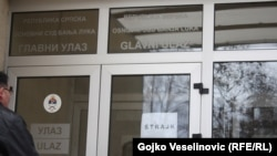 Osnivni sud na prvi dan štrajka
