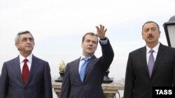 Prezidentlərin Rusiyanın vasitəçiliyi ilə Kazan danışıqları - 2011