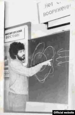 Борис Нємцов в університеті