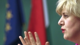 Hungary -- Dunja Mijatovic , OSCE Representative on Freedom of the Media, Budapest, 18Jan2011