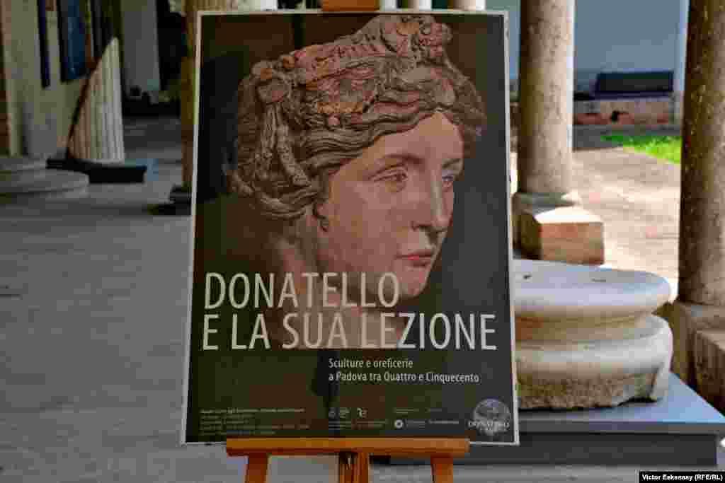 Afișul expoziției la complexul muzeal Eremitami din Padova